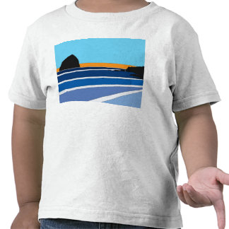 Simplistic Pacific City Oregon T-shirts