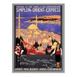Simplon Orient Express London Constantinople Postcards