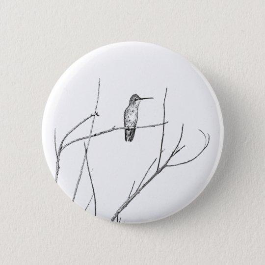 Simply a Hummingbird on a stick 6 Cm