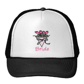 Simply Adorable Bridal Bouquet Trucker Hats