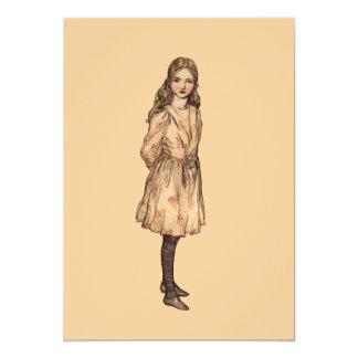 Simply Alice 13 Cm X 18 Cm Invitation Card