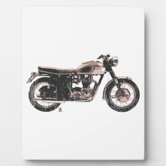 Simply Beautiful Classic Motorcycle Display Plaque