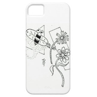 Simply_Because Dusty Bee Phone Case Case For The iPhone 5
