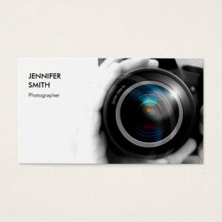 Simply Black and White Photographer Camera Lens