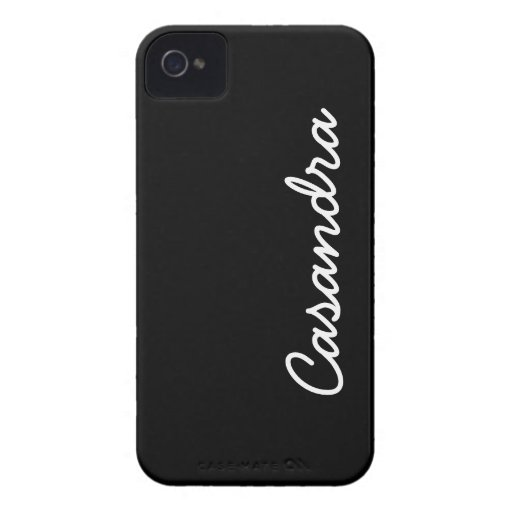 Simply Black iPhone 4 Cases