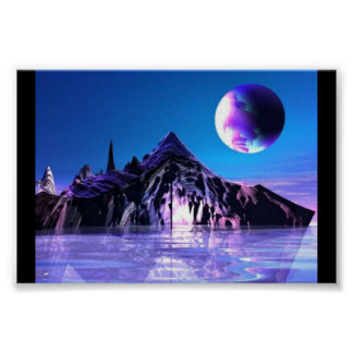 Simply Blue Waters Poster