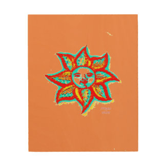 Simply Bright Sunshine Wood Prints