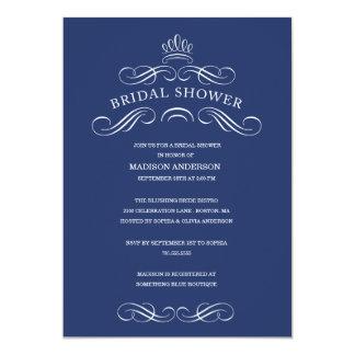 SIMPLY CHIC   BRIDAL SHOWER INVITATION
