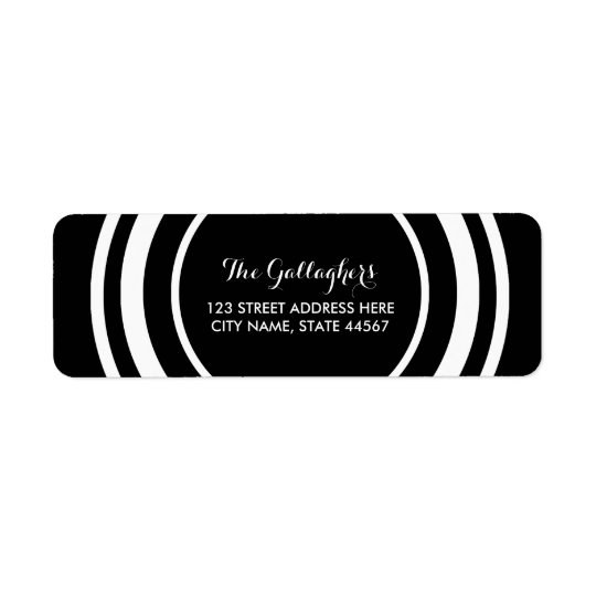 Simply Chic Return Address Labels