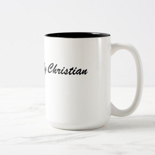 Simply Christian Two-Tone Coffee Mug