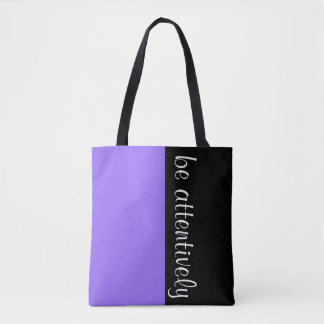 Simply colors LILAC & your Text Tote Bag