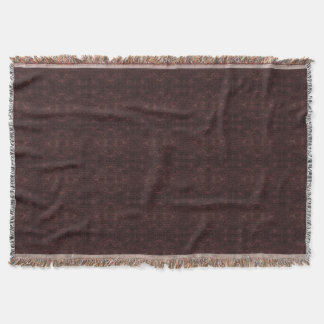 Simply Dark Burgundy Throw Blanket