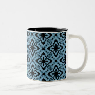 Simply Dazzling Damask Mug, Light Blue