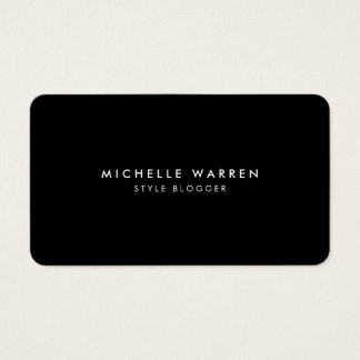 Simply Elegant Blogger Business Card II