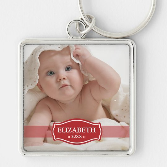 Simply Elegant Mummy's Keychain (red)