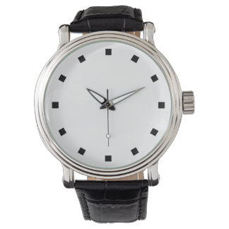 SIMPLY ELEGANT | pure design with small squares Watch