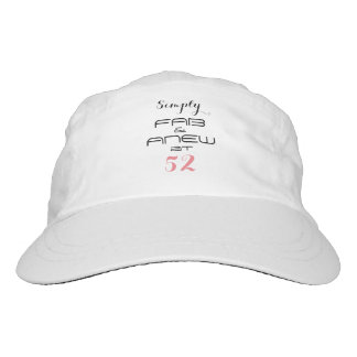 Simply FAB & ANEW at 52 - Hat