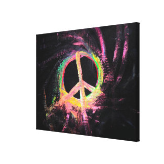 simply for peace gallery wrapped canvas