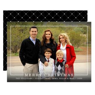 Simply Framed | Holiday Photo Card 13 Cm X 18 Cm Invitation Card