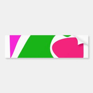 Simply Happy Bumper Sticker