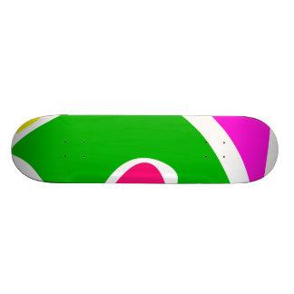 Simply Happy Custom Skateboard