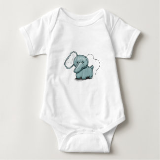 Simply Hellephant Baby Bodysuit
