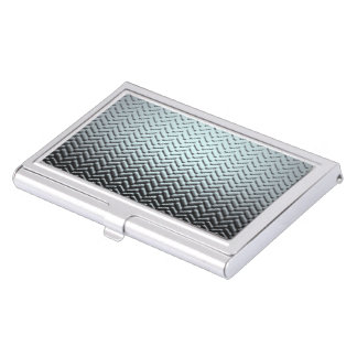 Simply Indusrial/Business Card Holder-light blue Business Card Cases