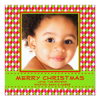 Simply Joyous - Photo Holiday Card 13 Cm X 13 Cm Square Invitation Card
