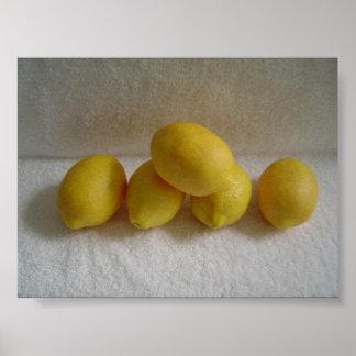 Simply Lemons Poster