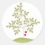 Simply Love Tree Round Sticker