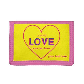 Simply Love Tri-fold Wallet