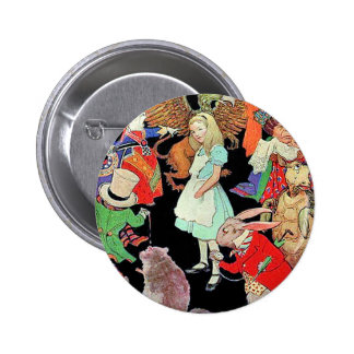 Simply, Madly Alice 6 Cm Round Badge