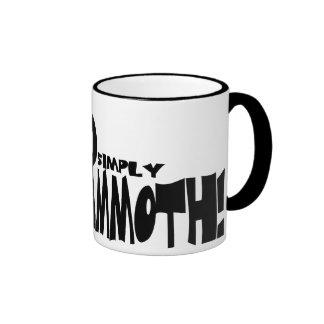 Simply Mammoth Coffee Mugs
