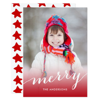 Simply Merry | Vertical Holiday Photo Card