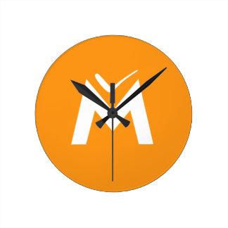 Simply MUE Round Clock