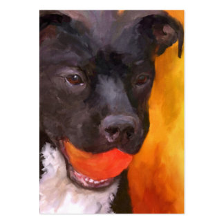 Simply Orange Dog ACEO Art Trading Cards Pack Of Chubby Business Cards