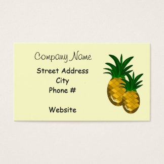 Simply Pineapple Business Card