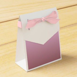Simply Pink Tent Party Favor Box Wedding Favour Boxes