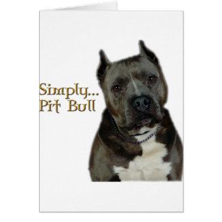 Simply PitBull Card