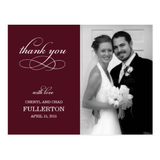 Simply Pretty Wedding Thank You Card