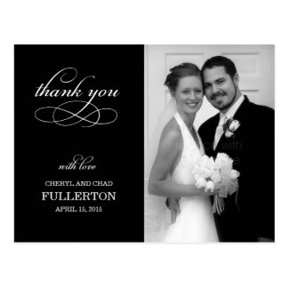 Simply Pretty Wedding Thank You Card Post Cards