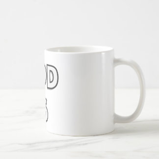 Simply put - GOD IS - if you believe you know Basic White Mug
