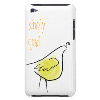 Simply Quail iPod Touch Case
