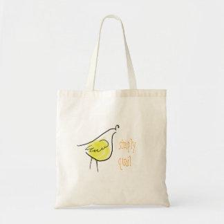 Simply Quail Tote Budget Tote Bag