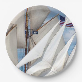 Simply Sails Paper Plate