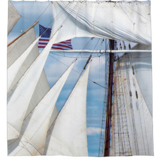 Simply Sails Shower Curtain