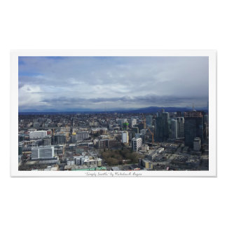 """Simply Seattle"" City Decor Photo Prints"