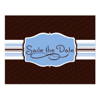 Simply Sent Save the Date Post Card