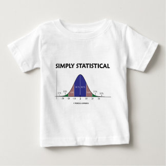 Simply Statistical (Bell Curve Attitude) T Shirt