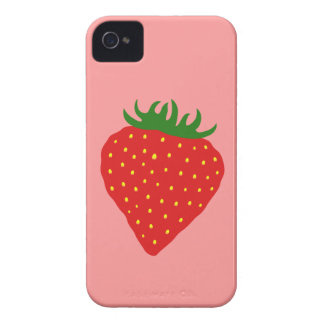 Simply Strawberry custom color Blackberry case